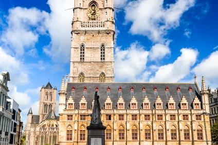 Ghent Attractions Map   Visit A City